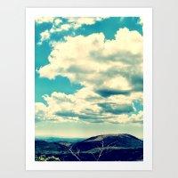 Costa Rican Clouds Art Print