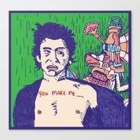 Richard Hell And The Apo… Canvas Print
