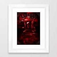 Infernal Throne Framed Art Print