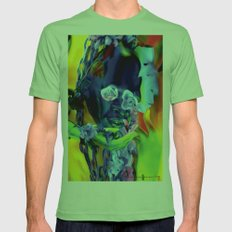 The Offering Mens Fitted Tee Grass SMALL