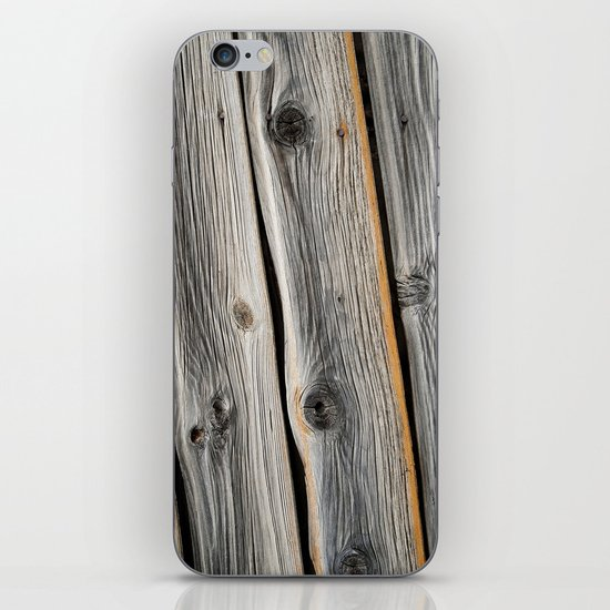 Wood Grain 2 iPhone & iPod Skin