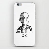Ok Hero iPhone & iPod Skin