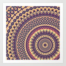 Mandala 132 Art Print