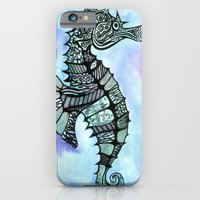 Tatoo Seahorse iPhone 6 Slim Case