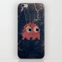 Pac-Man Pink Ghost iPhone & iPod Skin