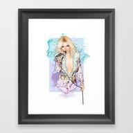 Its Vegas, Bitch. Framed Art Print