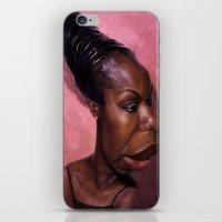 Nina Simone iPhone & iPod Skin