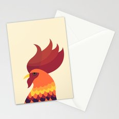 Cock Stationery Cards