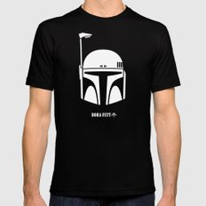 BOBA FETT! Mens Fitted Tee Black SMALL