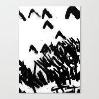Burn 2 Canvas Print