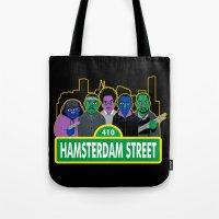 Hamsterdam Street Tote Bag