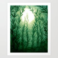 Kelpscape Art Print