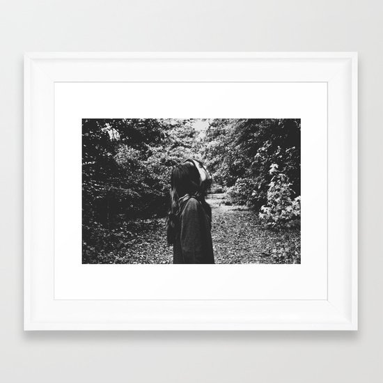 dark Framed Art Print