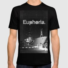 Euphoria Mens Fitted Tee Black SMALL