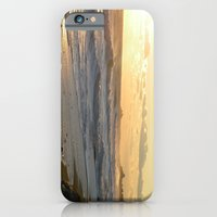 iPhone & iPod Case featuring beach sunset by Bret Caiazzi