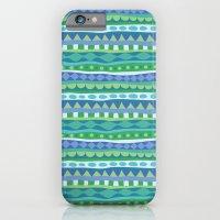 Stripey-Oceania Colors iPhone 6 Slim Case