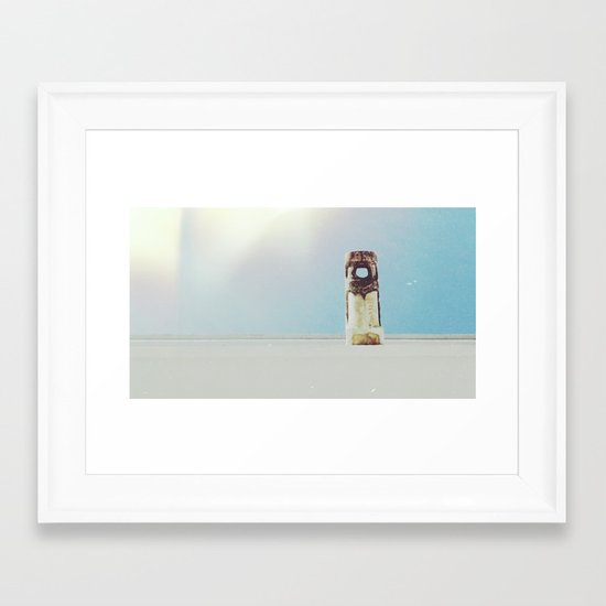 High water Framed Art Print