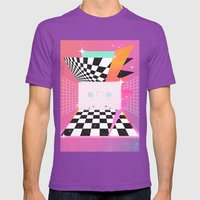 Cassette (feat. Marta Macedo) Mens Fitted Tee Ultraviolet SMALL