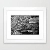 Sediment Framed Art Print