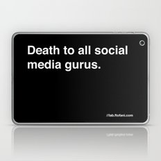 death to all social media gurus Laptop & iPad Skin