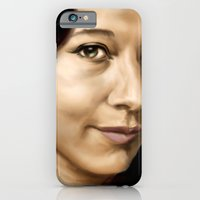 iPhone & iPod Case featuring Holly by GreenEyedPaintGuy