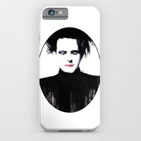 iPhone & iPod Case featuring In The Gathering Gloom | Robert Smith by Zombie Rust