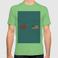 Captain America Mens Fitted Tee Grass SMALL