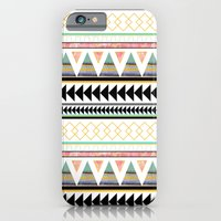 iPhone & iPod Case featuring Aztec 3 by ALT + CO