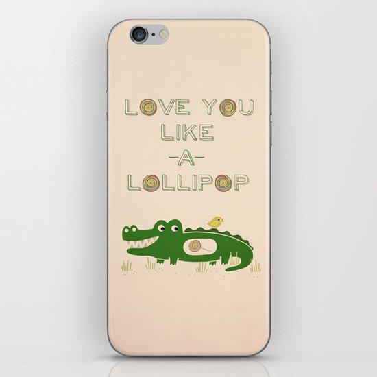 Like A Lollipop iPhone & iPod Skin