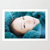 Korean Beauty Art Print