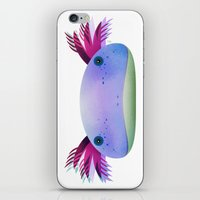Axolotl Friend iPhone & iPod Skin