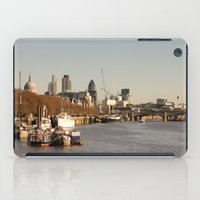 London at sunset iPad Case