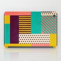 Geometric Love iPad Case