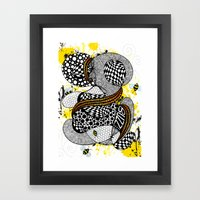Buzzzz.....  Framed Art Print