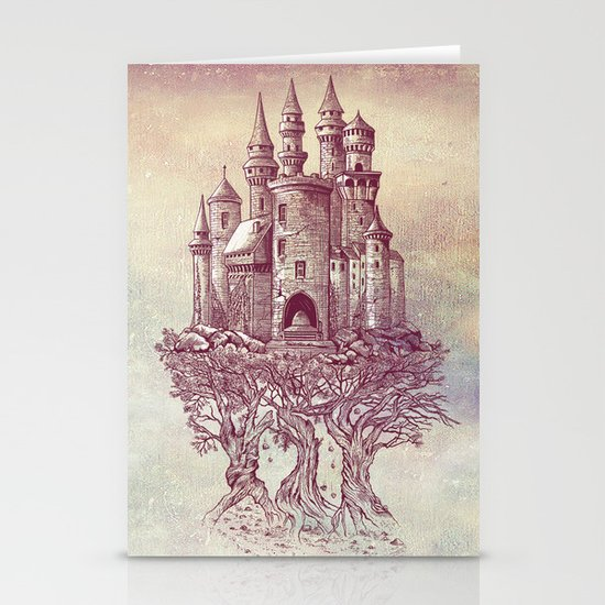 Castle in the Trees Stationery Card