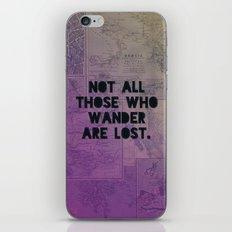 Wander Map iPhone & iPod Skin