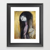 My Lucky Rabbit's Foot  Framed Art Print