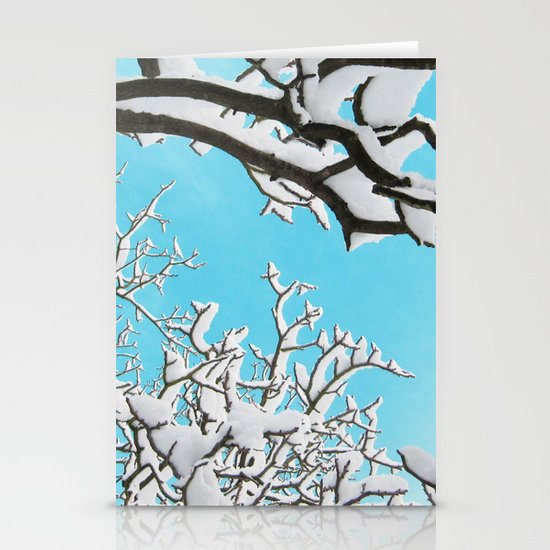 snow Stationery Card