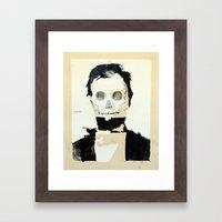 Abraham Lincoln (skull) Framed Art Print