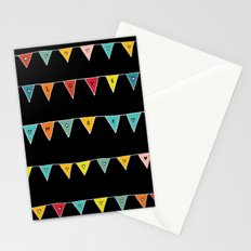 Love More (Black) Stationery Cards
