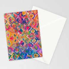 Watercolour Ikat IV Stationery Cards