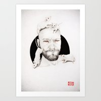 AS LAB RATS 02 Art Print