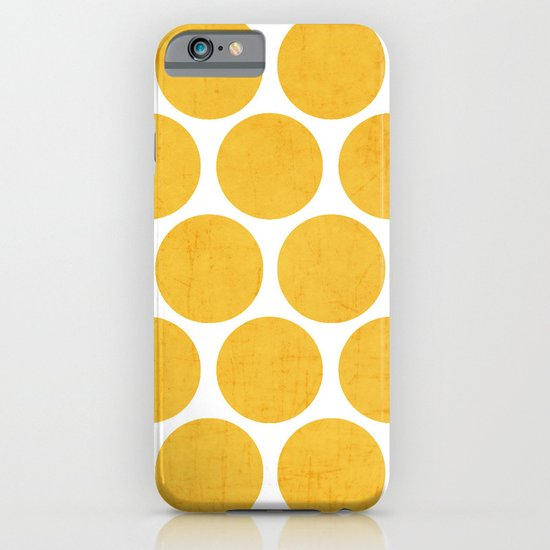 yellow polka dots iPhone & iPod Case