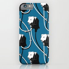 Wired. Blue iPhone 6s Slim Case