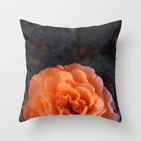 Holland Park Rose Throw Pillow