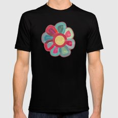 Flor Black SMALL Mens Fitted Tee