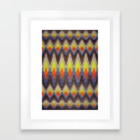 rapid fire Framed Art Print