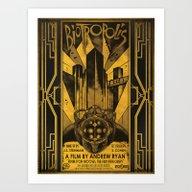 Art Print featuring Biotropolis by Jak Gibberish