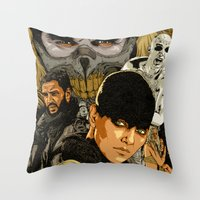 M. M. F. R. Throw Pillow
