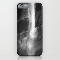 Yosemite National Park - Vernal Falls Black and White iPhone 6 Slim Case